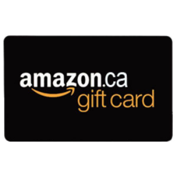Carte-cadeau Amazon.ca de 10$