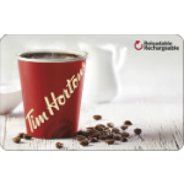 10 $ Digital Tim Card® Now Available!